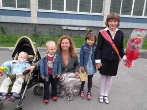 Интервью многодетной мамы Оксаны Соколинской