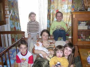 Многодетная мама Татьяна Рейпольская