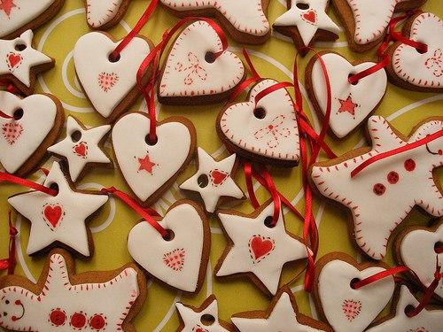 идеи новогодних подарков своими руками имбирные украшения