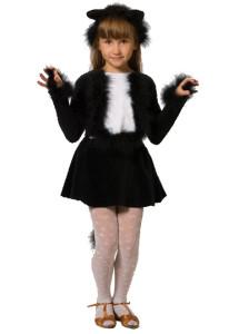 Детские новогодние костюмы своими руками Кошечка