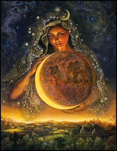 Луна в жизни женщины