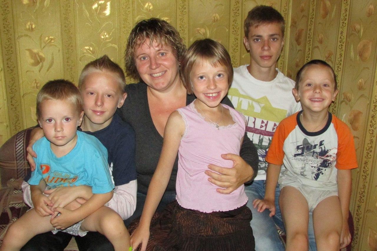Многодетная мама Надежда Осипенко Интервью многомам